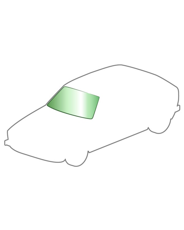 Green windshield