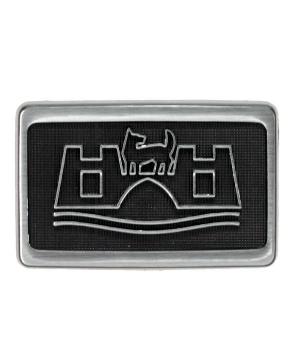 Repetidor lateral. Logotipo Wolfsburg