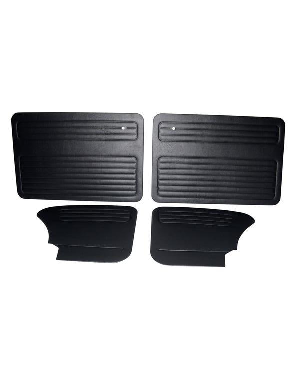 Kit de Paneles puerta Interior TMI Sin Bolsillos. Negro