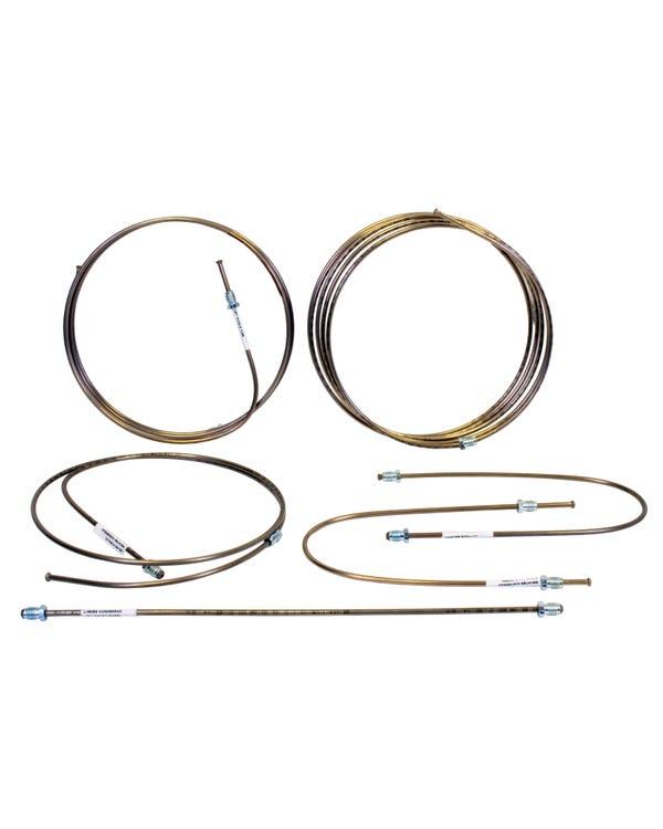 Conjunto de tubo de freno en cobre níquel