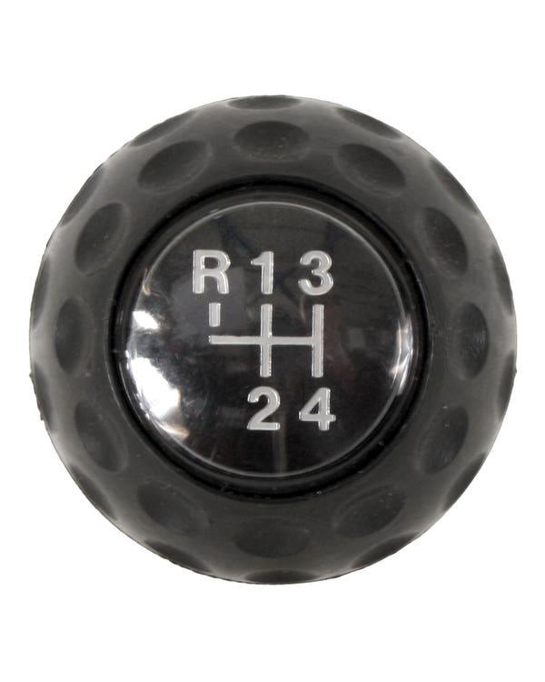 Golf Ball Gear knob 4 Speed Black