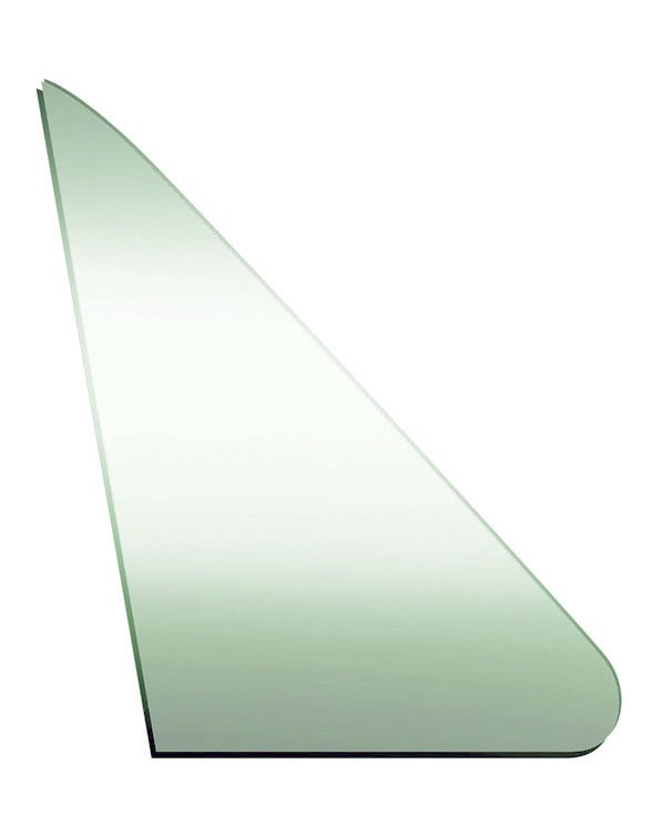 Green Glass for Fixed Front Right Quarter Window