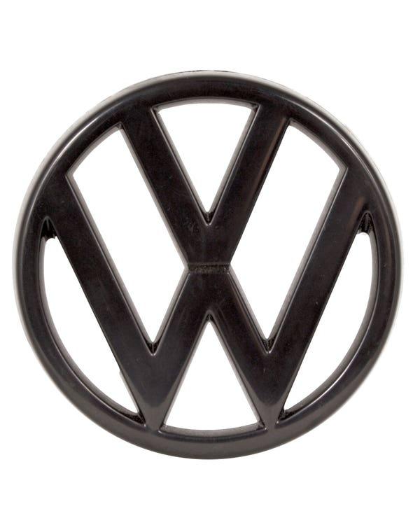 Grille Badge - VW Emblem in Black