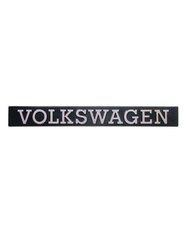 Tailgate Badge - Volkswagen Script