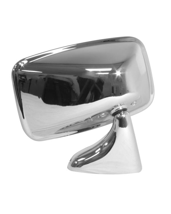Wing Mirror Chrome Flag Right