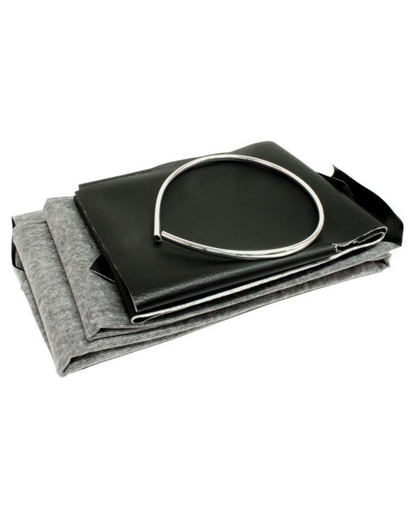 Dachhimmel für Modell mit Schiebedach, in schwarzem Vinyl