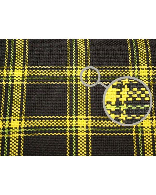 Series 1 GTI Fabric Yellow and Black Plaid