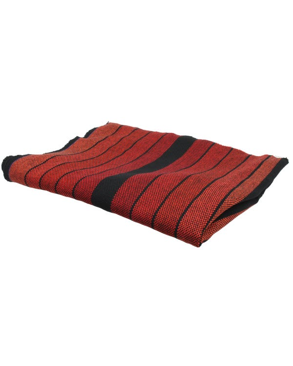 Series 2 GTI Seat Fabric Red and Black Stripe