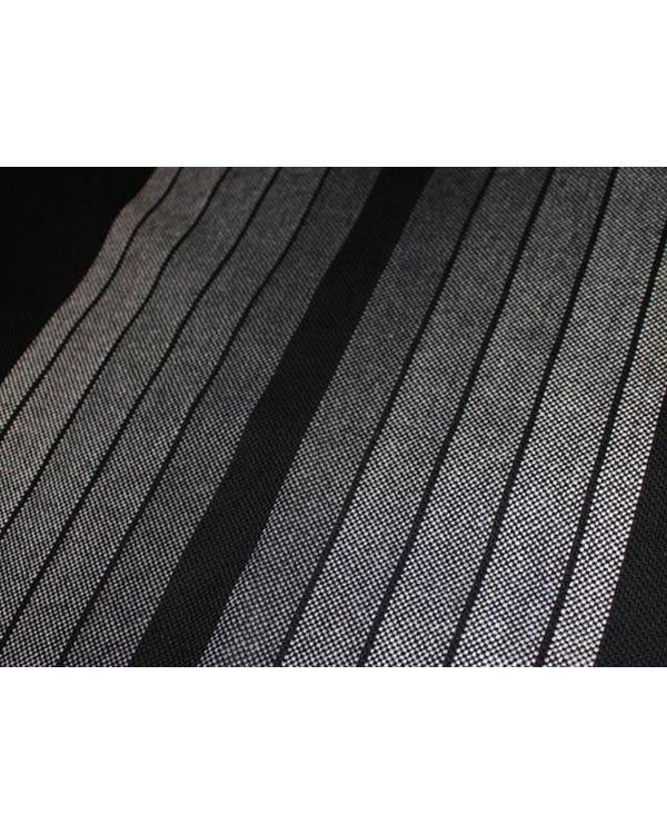 Series 2 GTI Fabric Grey and Black Stripe