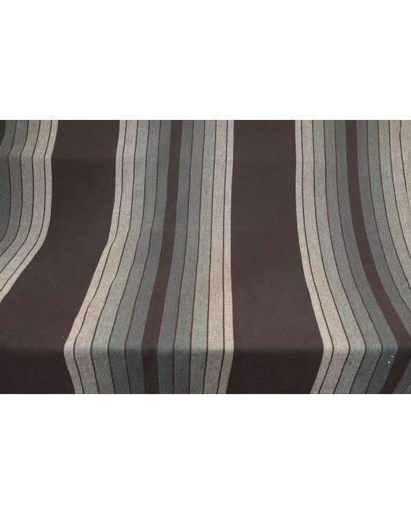 Series 2 GTI Seat Fabric, Green Grey and Black Stripe