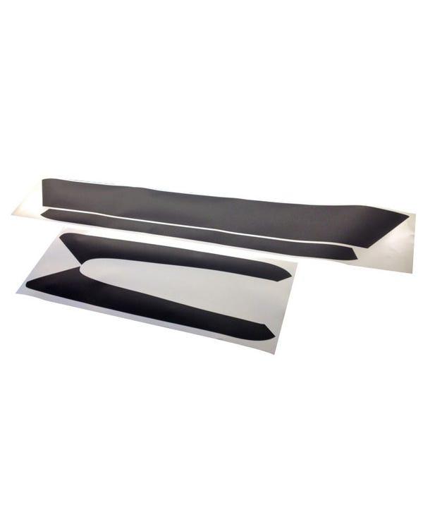 Tailgate Surround in Black Vinyl