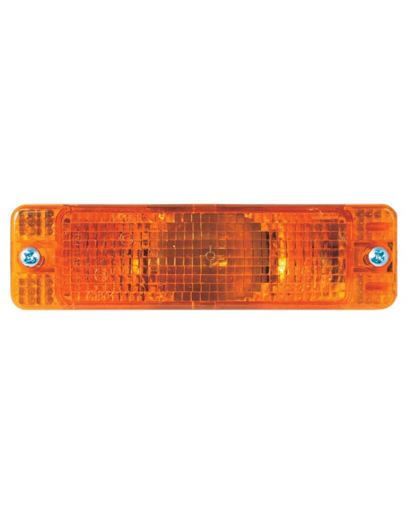 Front Turn Signal Assembly Amber for Small Bumper Model