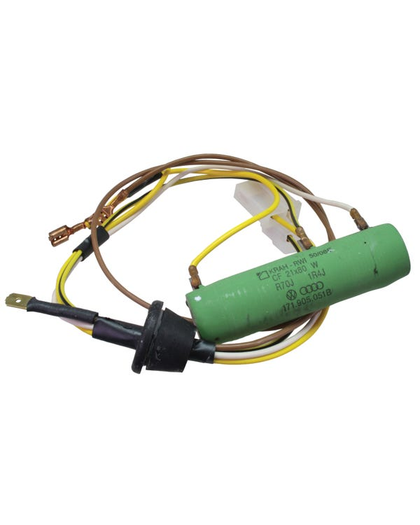 Fan Motor Resistor & Harness