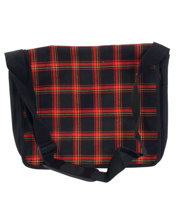 Courier Bag in MK1 GTI Series 1 Red Fabric