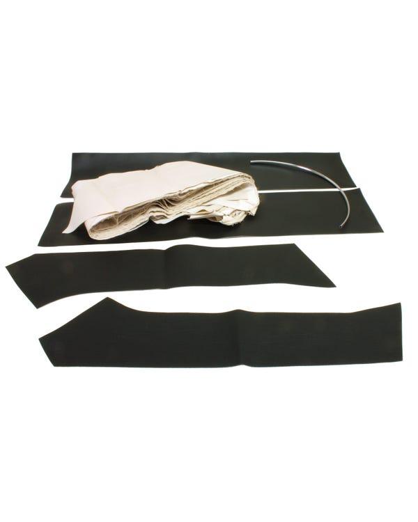 Dachhimmel, für Modell ohne Schiebedach, 4-Türer, in Schwarz, Vinyl