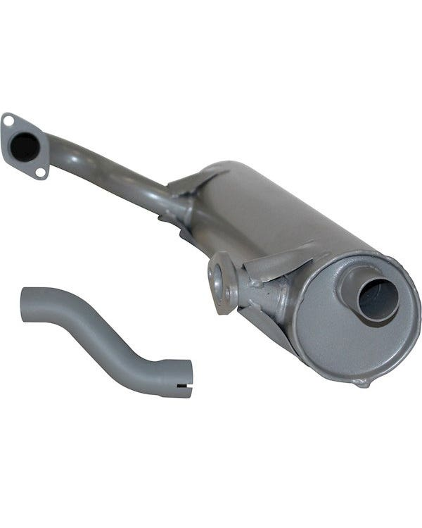 Right Exhaust muffler for Type 181