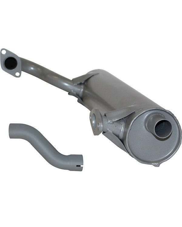 Right Exhaust Silencer for Type 181