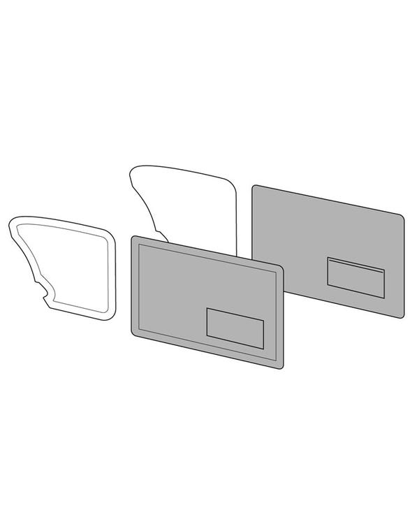 Front Door Panels with Pockets OEM Classic Style