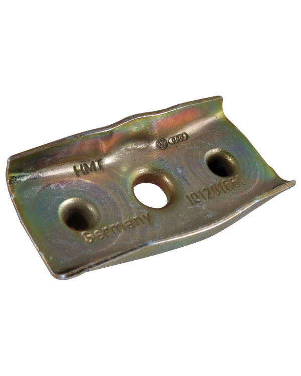Retaining Bracket, For R/H fuel tank strap, Mk2 Golf/Corrado