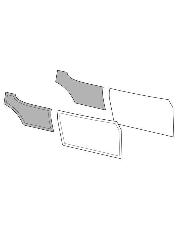 Rear Quarter Panels for Coupe in an OEM Style