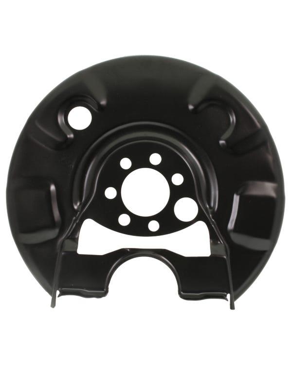 Rear Brake Rotor Backing Plate Right