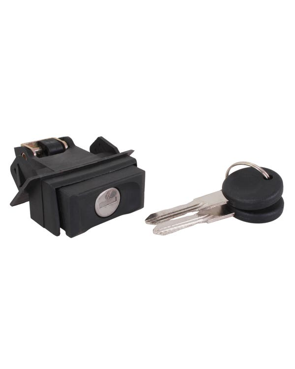 Boot Lock with Button and Keys