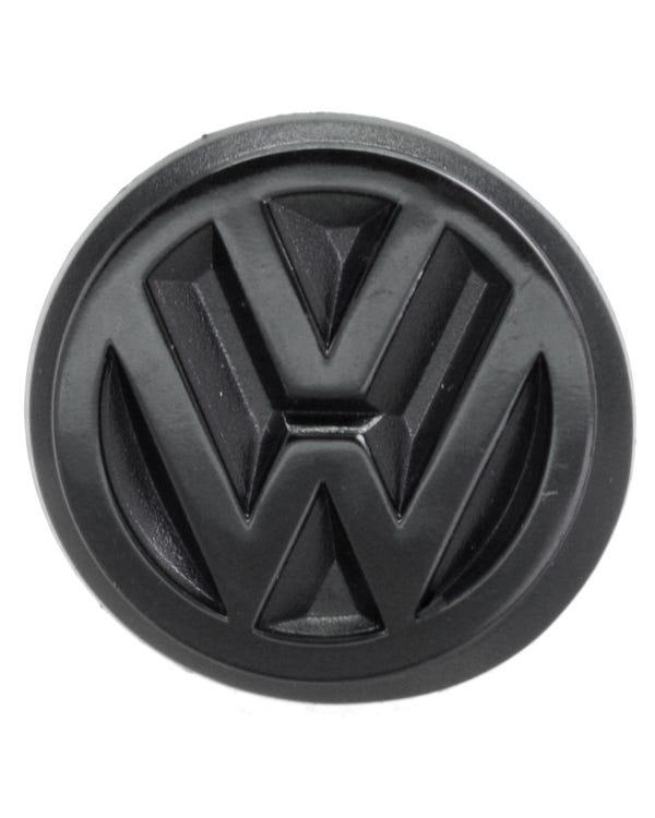 Rear VW Emblem, Black