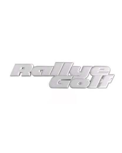 """Schriftzug """"Rallye Golf"""", hinten"""