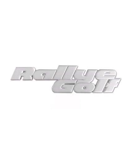 Rallye Golf Rear Badge