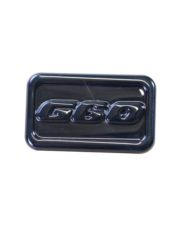 Side Repeater Badge in Black G60