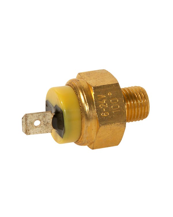 Coolant Temperature Switch 1 Pin Yellow