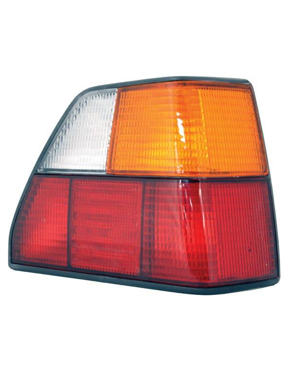 Piloto Trasero, Derecho, Rojo/Naranja, Golf Mk2 84-92, Reproducción