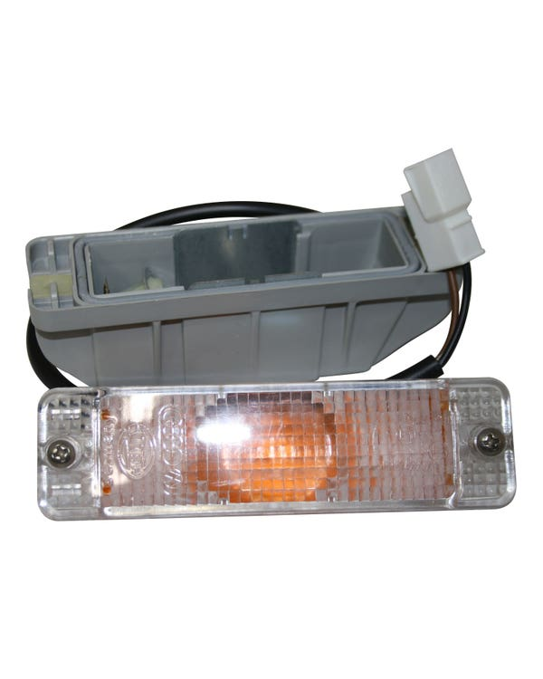 Front Turn Signal Assembly with Clear Lens