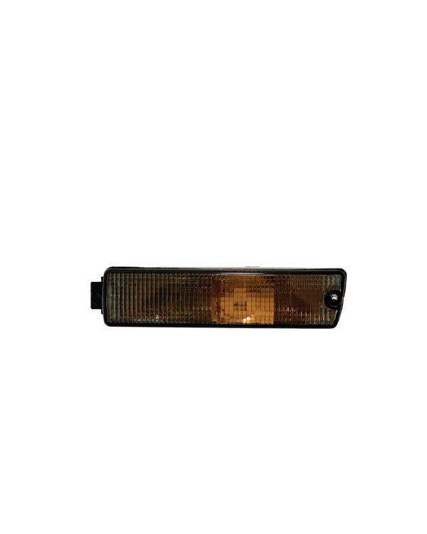Front Turn Signal Lens Smoked for Big Bumper Model Left