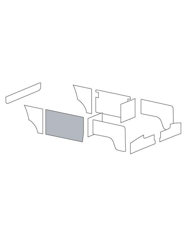 Innenverkleidung für gegenüberliegende Seite der Schiebetür für Linkslenker, in originaler Zweifarbenkombination