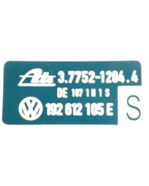 Aufkleber für ATE-Bremskraftverstärker