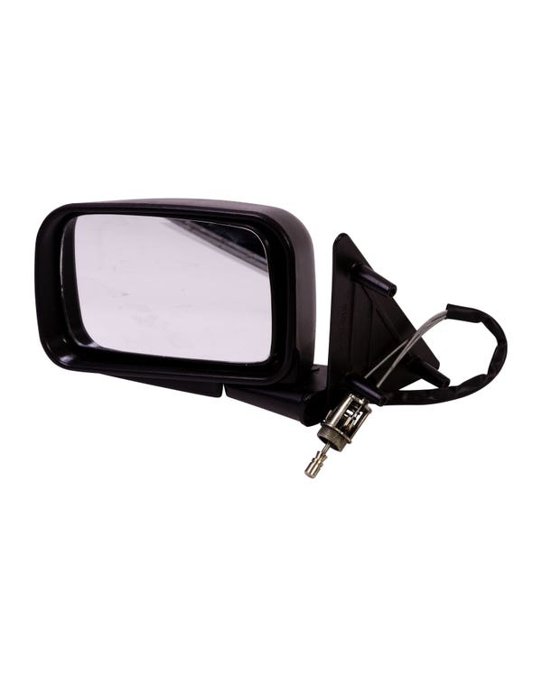 Door Mirror for Right Hand Drive with Manual Adjustment Left