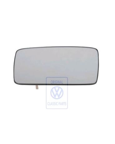 Exterior Mirror Glass, Left for RHD