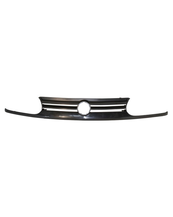 Front Grille with Hole for Badge in Black for GTI Model