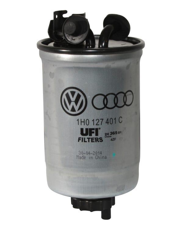 Filtro de combustible diésel