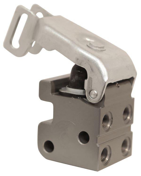 Regulador de presión de frenos para discos traseros