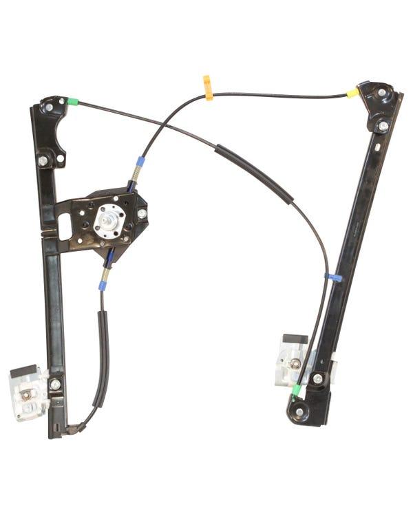 Regulador de ventanilla manual de puerta delantera derecha