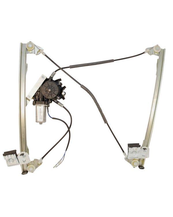 Mecanismo elevalunas eléctrico de puerta delantera izquierda. Sin sistema comfort