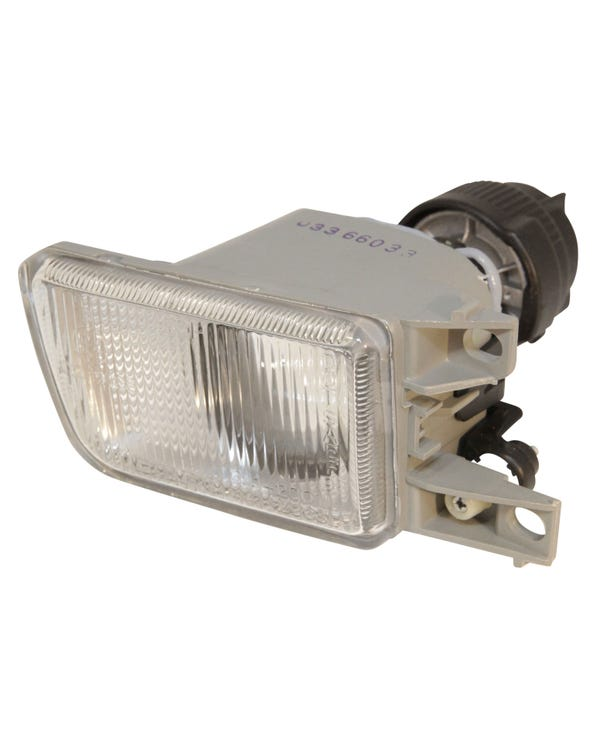 Front Fog Lamp with a Clear Lens Left
