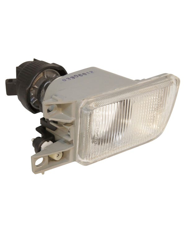 Front Fog Lamp with a Clear Lens Right