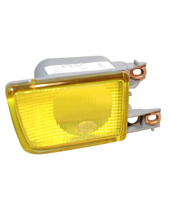 Gelber Nebelscheinwerfer, links