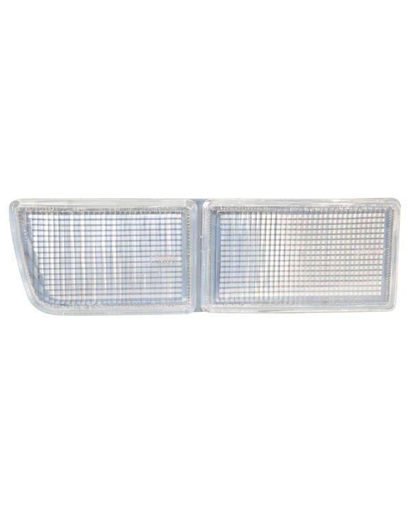 Bumper Fog Lamp Aperture Cover, Clear, Left