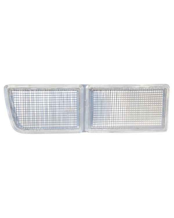 Bumper Fog Lamp Aperture Cover, Clear, Left