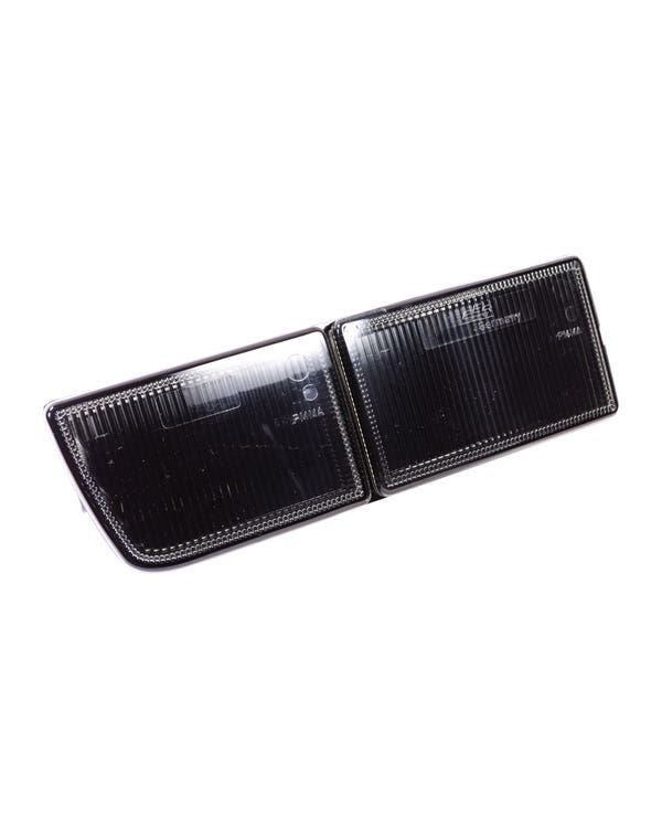 Bumper Towing Eye Aperture Cover, Smoked, Left