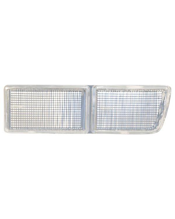 Bumper Fog Lamp Aperture Cover, Clear, Right